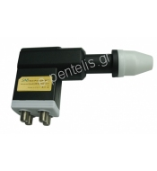 SAB Slim Quad LNB 0.1dB MULTIFEED