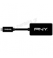 Αντάπτορας PNY MHL (micro USB - Mobile High-Definition Link) σε