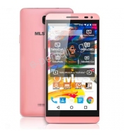 "Smartphone με οθόνη IPS HD 5""MLS IQTALK COLOR 4G PINK"