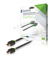 Καλώδιο HDMI High Speed με Ethernet-KNV 34000E 10.0